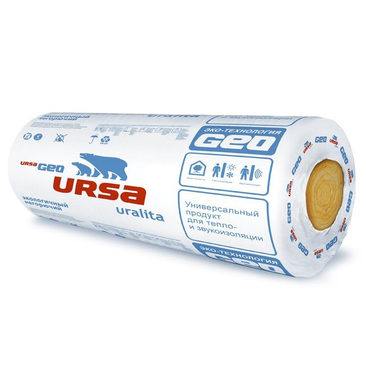 Купить Утеплитель Ursa Geo M-11, 7000х1200х50 мм (2 плиты/16.8 м2) — Фото №1