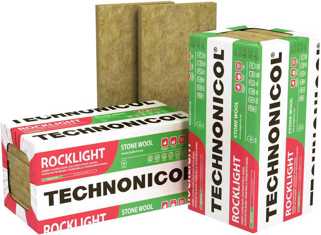 Купить Утеплитель Технониколь Роклайт, 1200х600х50 мм — Фото №1