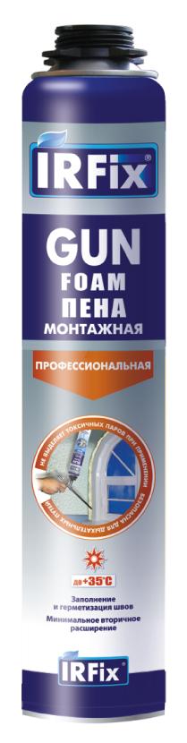 Пена монтажная профессиональная Irfix, 750 мл