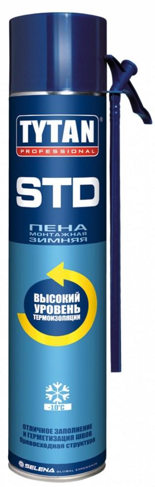 Купить Пена монтажная зимняя Tytan STD, 750 мл — Фото №1