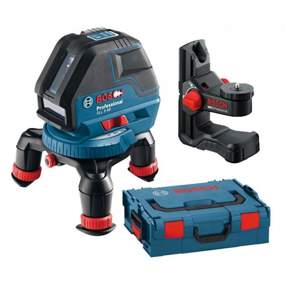 Купить Уровень лазерный Bosch GLL 3-50 Professional, 3 луча — Фото №1