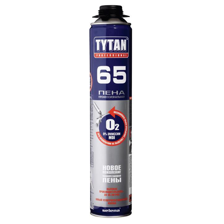 Купить Пена монтажная профессиональная Tytan Professional 65, 750 мл — Фото №1