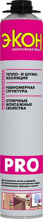 Пена монтажная профессиональная Экон Pro, 700 мл