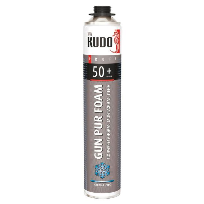 Kudo Home 50+ Arktika, 750 мл, Пена монтажная зимняя