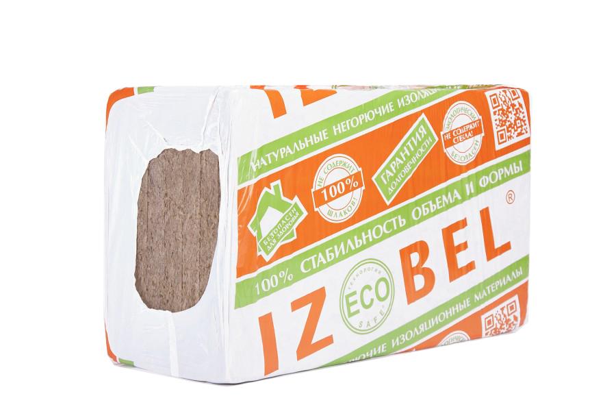 Купить Минеральная вата Izobel 1000x600 толщина 100 мм (4 плиты в упаковке) — Фото №1