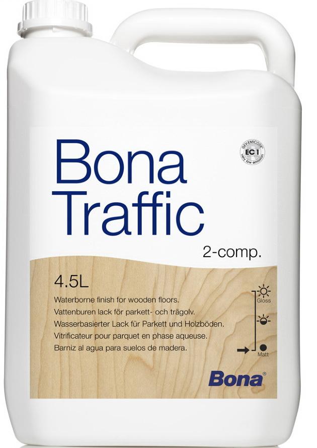Лак для паркета Bona Traffic (матовый), 4.95 л