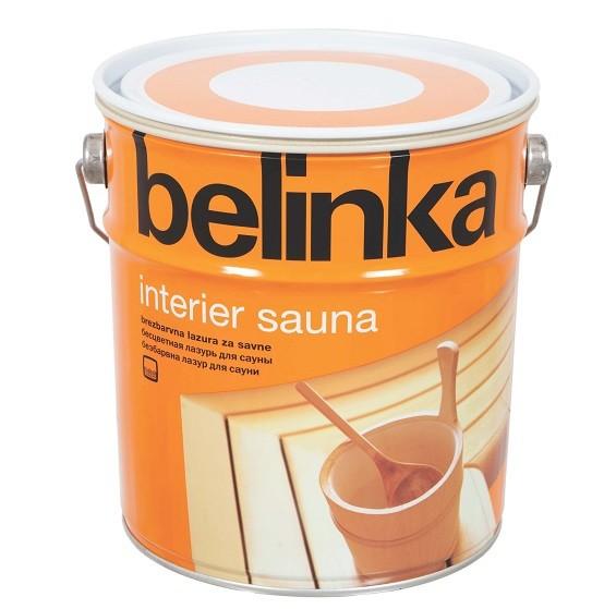 Пропитка для бани и сауны Belinka Interier Sauna, 2,5 л