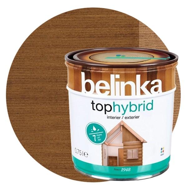 Пропитка для древесины Belinka Tophybrid №04 Темный орех, 0,75 л