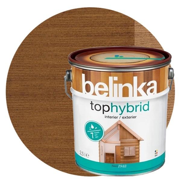 Пропитка для древесины Belinka Tophybrid №04 Темный орех, 2,5 л