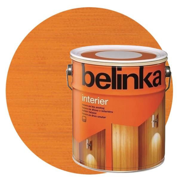 Пропитка для древесины Belinka Interier № 66 Золотое яблоко, 2,5 л