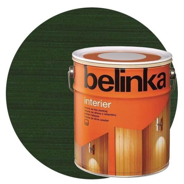 Пропитка для древесины Belinka Interier № 70 Хвойно-зеленый, 2,5 л
