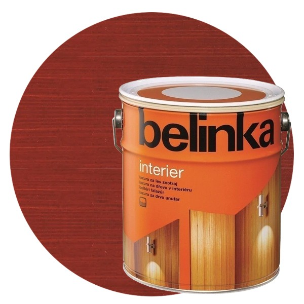 Пропитка для древесины Belinka Interier № 71 Кораллово-красный, 2,5 л