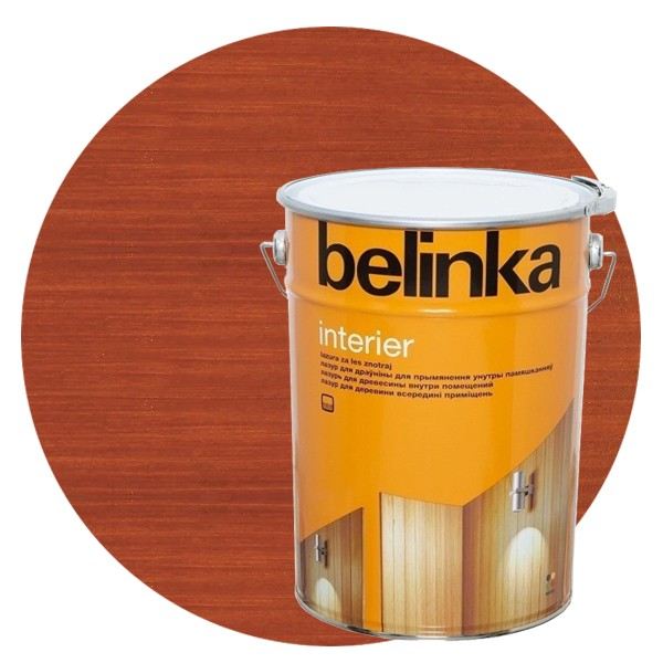 Пропитка для древесины Belinka Interier № 67 Ориентально-оранжевый, 10 л