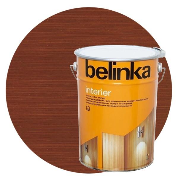 Пропитка для древесины Belinka Interier № 68 Земельно-коричневый, 10 л