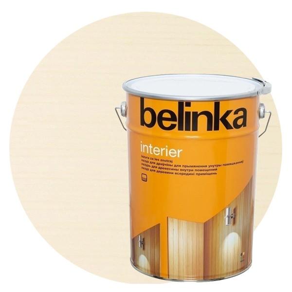 Пропитка для древесины Belinka Interier № 73 Сметаново-белый, 10 л