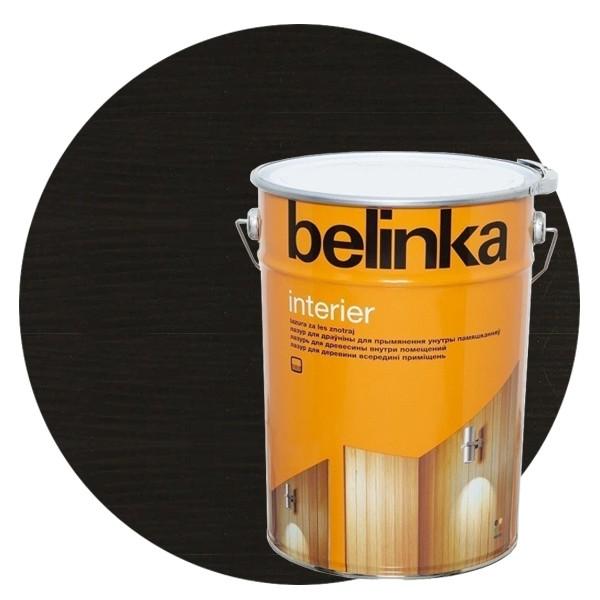 Пропитка для древесины Belinka Interier № 75 Магически-черный, 10 л