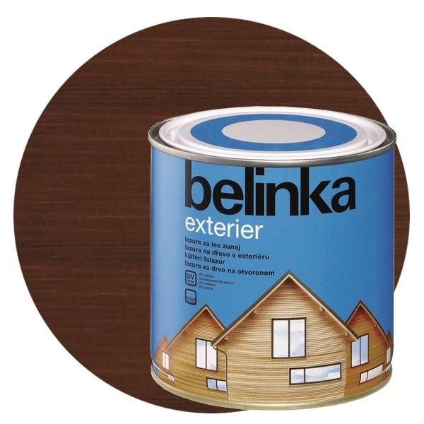 Пропитка для древесины Belinka Exterier № 69 Горячий шоколад, 0,75 л