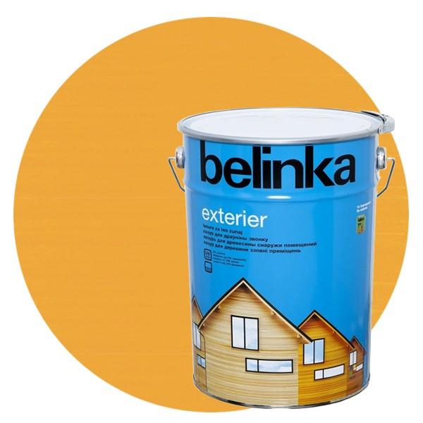 Пропитка для древесины Belinka Exterier № 62 Радужно-желтый, 10 л