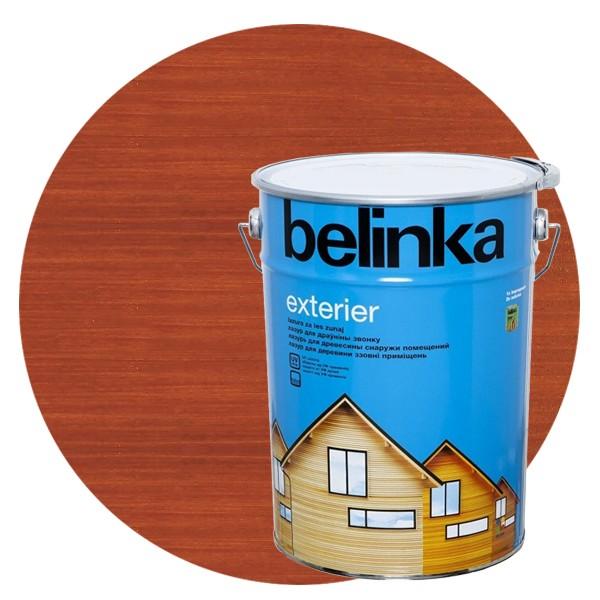 Пропитка для древесины Belinka Exterier № 67 Ориентально-оранжевый, 10 л
