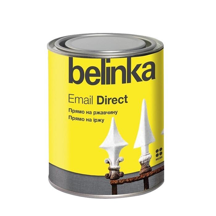 Эмаль антикоррозионная по ржавчине Belinka Email Direct белая 2,5 л