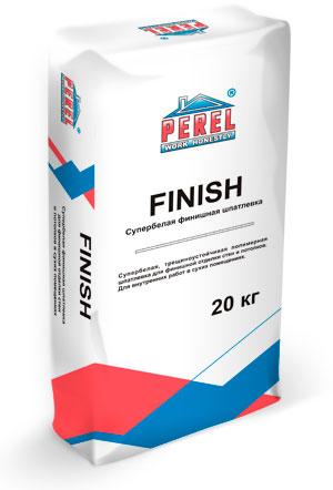 Купить Шпатлевка полимерная финишная Perel Finish (супербелая), 20 кг — Фото №1