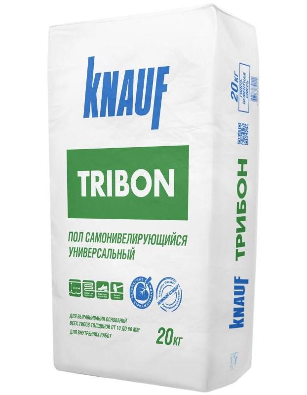 Купить Стяжка пола самовыравнивающаяся Knauf Трибон, 20 кг — Фото №1