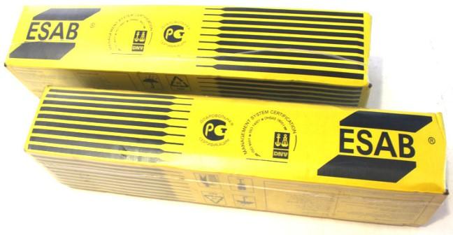 Купить Электроды сварочные ESAB OK 46-00, диаметр 3 мм (5.3 кг) — Фото №1