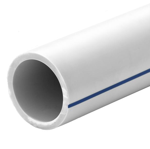Труба FDplast PN 10 PPRC 32x3 мм белая
