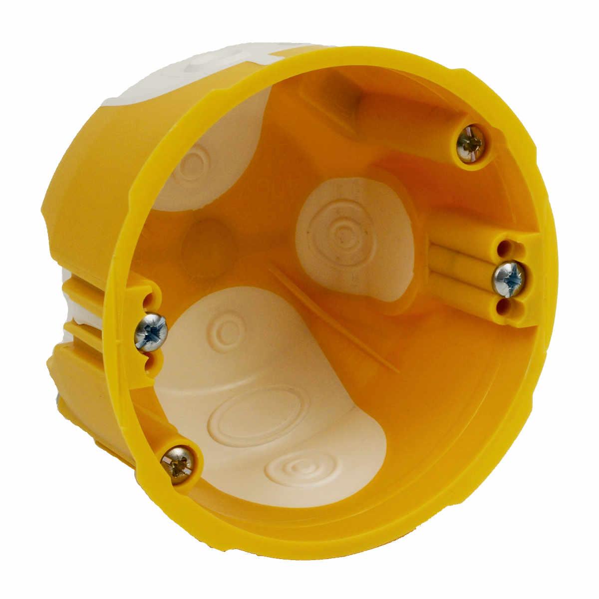 Коробка KUL 68-45/LD установочная ГСК 1 пост D=73мм H=45мм с мембранами