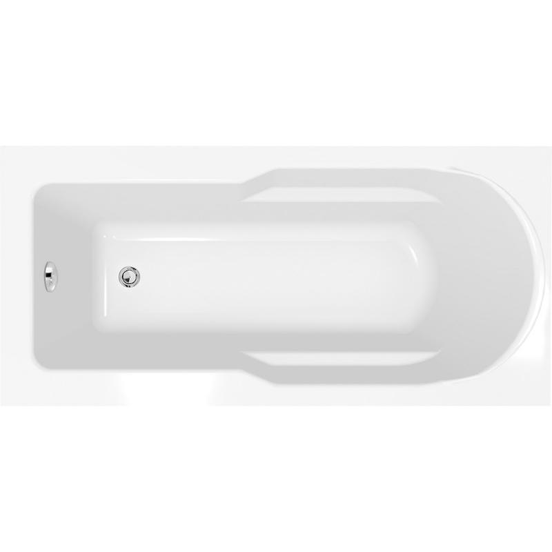 Купить Ванна прямоугольная акриловая Cersanit Santana (ультра белая), 160x70 см — Фото №1