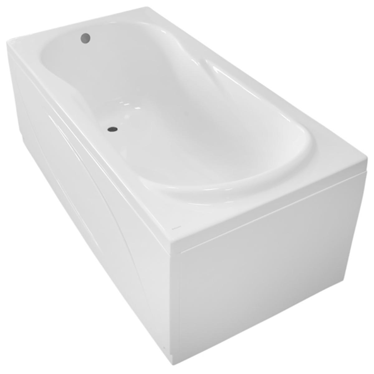 Купить Ванна прямоугольная акриловая Roca Uno ZRU9302870 (белая), 1700x750x500 мм — Фото №1