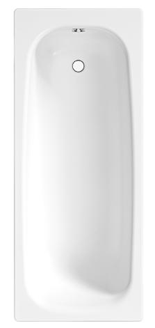 Купить Ванна прямоугольная стальная Jika Tansa S HG 1500х700 мм, толщина 3.5 мм — Фото №1