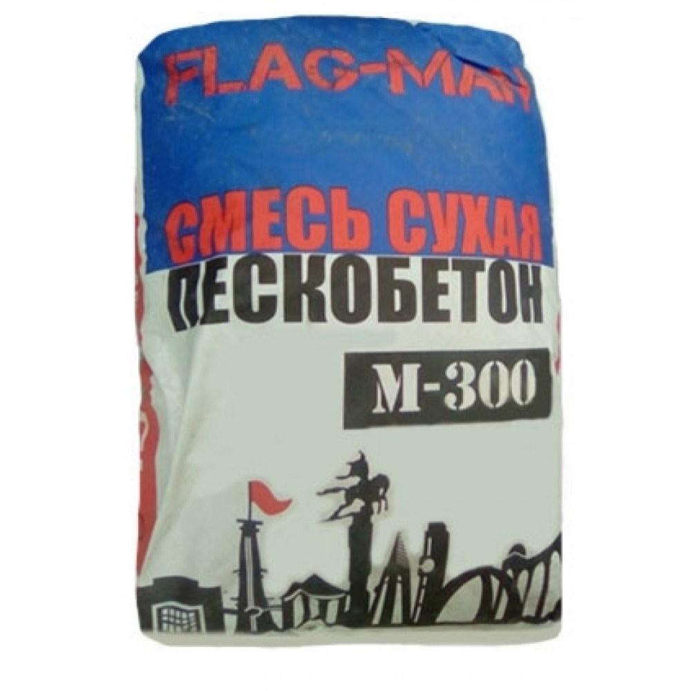 Купить Пескобетон Flagman М300, 40 кг — Фото №1
