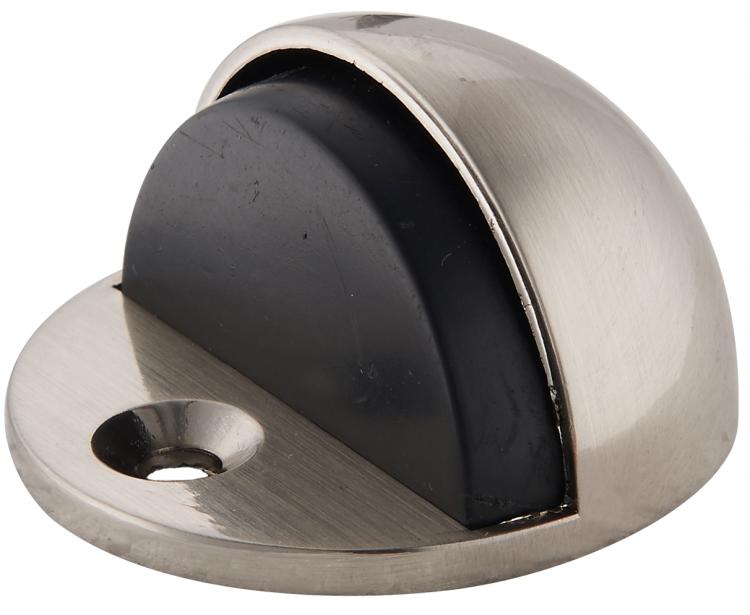Купить Ограничитель дверной напольный Renz DS 44 SN (матовый никель) — Фото №1
