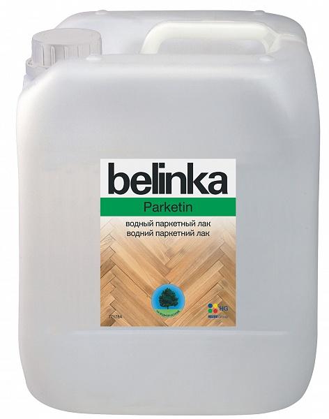 Лак для дерева Belinka Parketin (полуматовый), 5 л