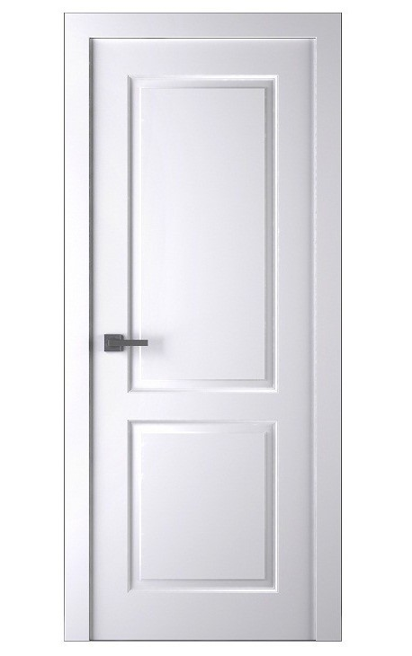 Дверное полотно глухое Belwooddoors Альта (белая эмаль), 2000х600 мм