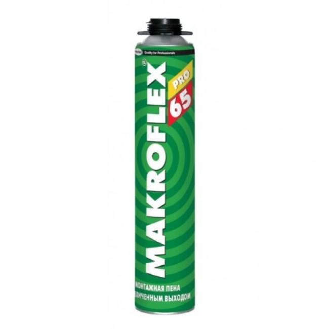 Купить Пена монтажная профессиональная зимняя Makroflex 65 Pro, 750 мл — Фото №1
