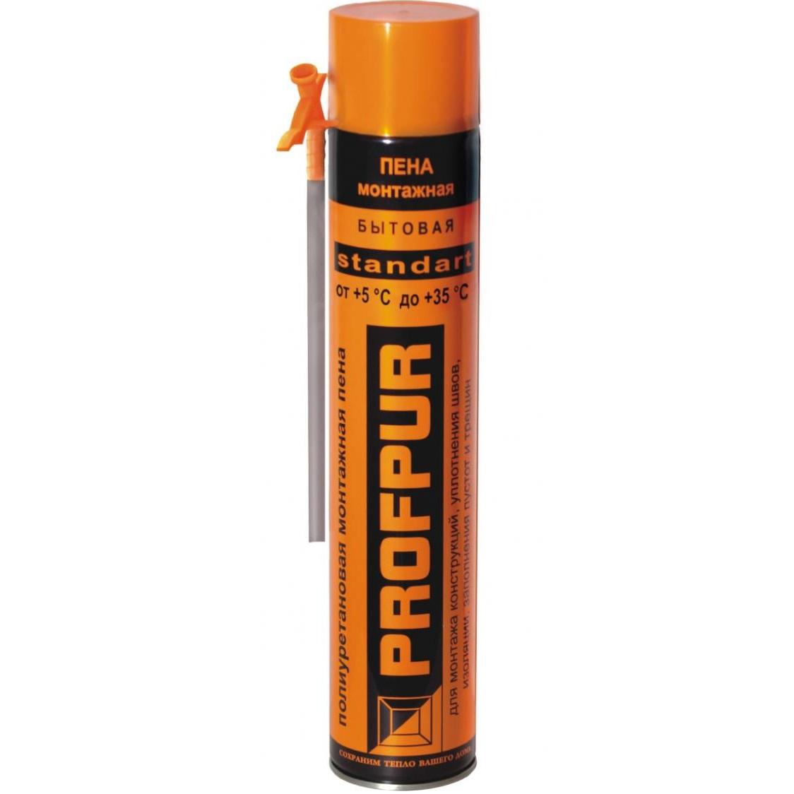 Пена монтажная профессиональная Profpur Ultra, 750 мл