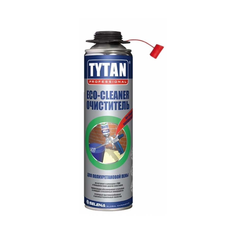Купить Очиститель неотвердевшей пены Tytan Professional ЕСО, 500 мл — Фото №1