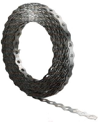 Купить Перфорированная лента волна 12 мм, длина 25 м — Фото №1
