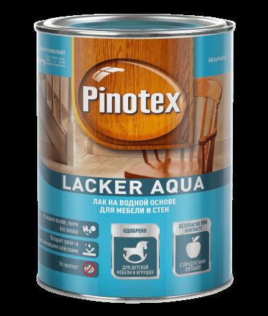 Купить Лак для дерева Pinotex Lacker Aqua 10 (матовый), 1 л — Фото №1