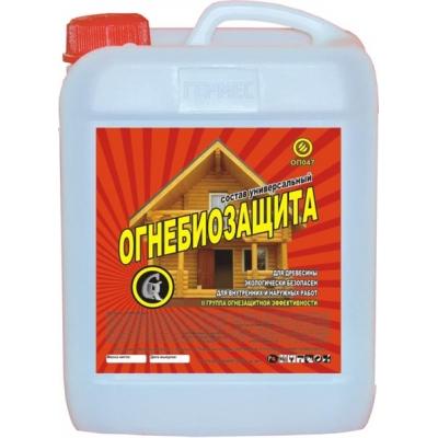 Купить Огнебиозащитная пропитка для древесины Гермес (красное дерево), 10 л