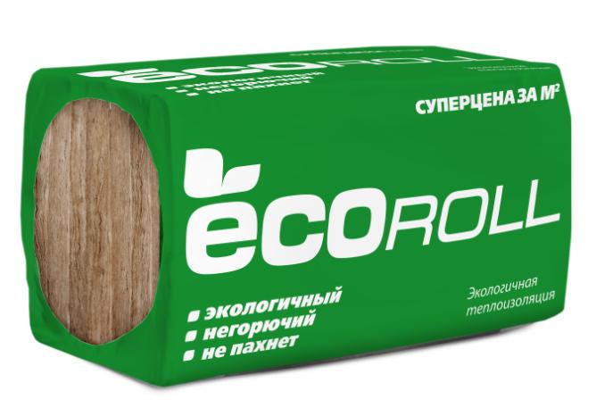 Купить Минеральная вата Ecoroll 1230x610 толщина 50 мм (16 плит в упаковке) — Фото №1