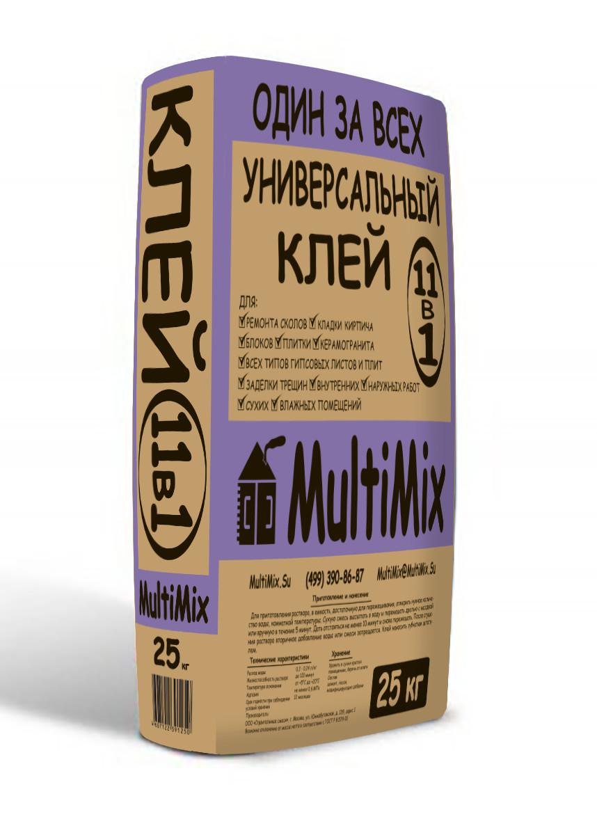 Купить Клей для плитки Multimix 11в1, 25 кг — Фото №1