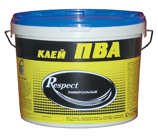 Купить Клей ПВА Respect Универсальный, 10 кг — Фото №1