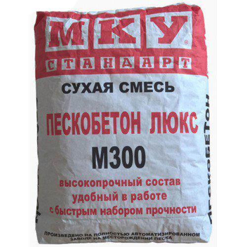 Купить Пескобетон МКУ М300 мелкофракционный, 40 кг — Фото №1