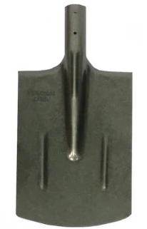 Купить Лопата штыковая без черенка усиленная прямоугольная Рельсовая сталь S505 К-3 — Фото №1
