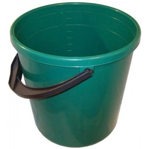 Купить Ведро мерное пластмассовое 21-302 КГ2547 4015 (зеленое), 15 л