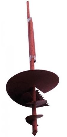 Купить Бур садовый шнековый с удлинителем 31-12А, 350 мм — Фото №1