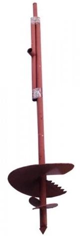 Купить Бур садовый шнековый с удлинителем 31-17, 250 мм — Фото №1